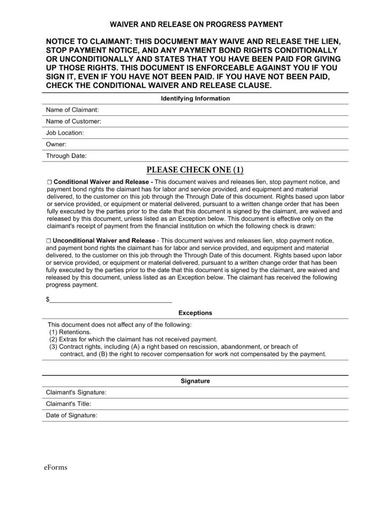 Mechanics Lien Letter Template