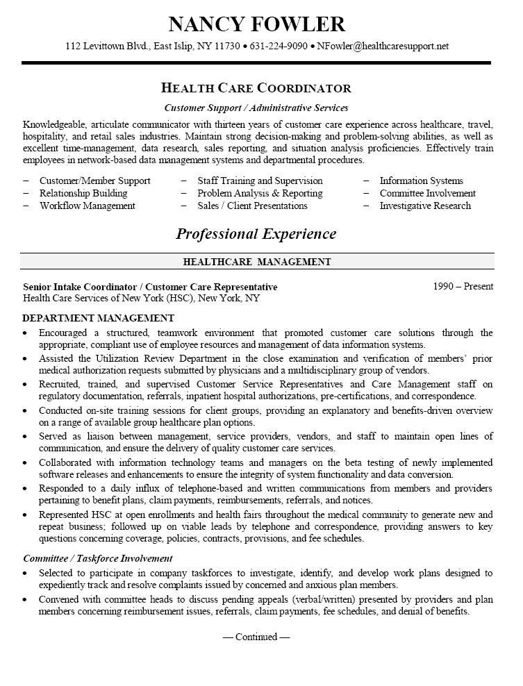 Medical Field Resume Templates