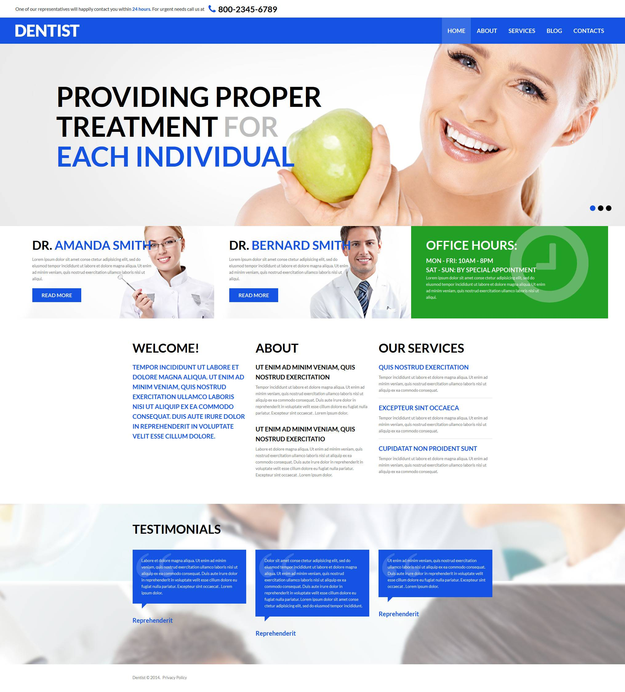 Medical Joomla 3 Templates