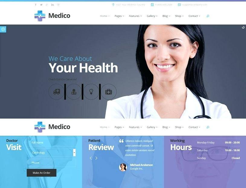Medical Staffing Website Templates