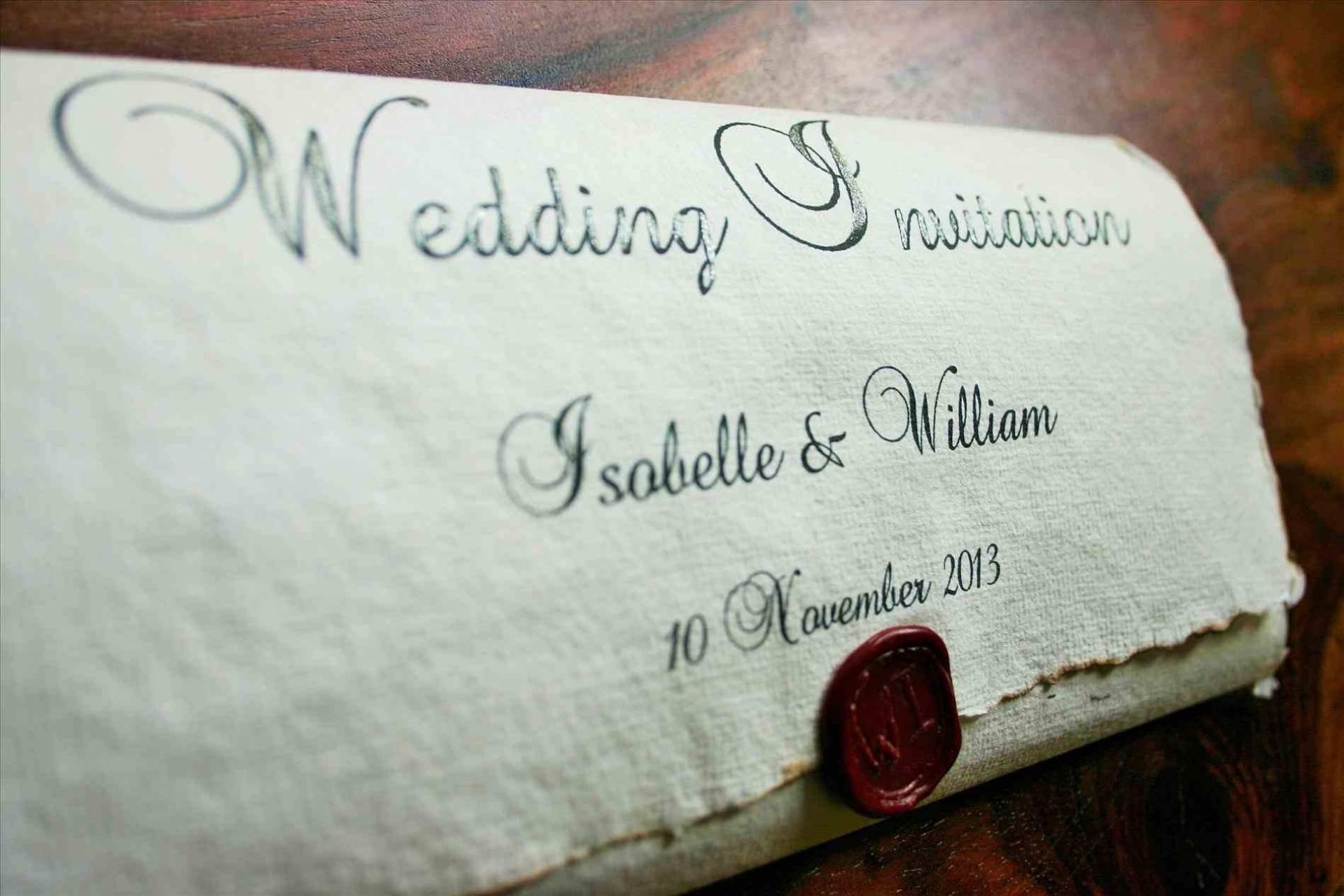 Medieval Wedding Invitation Templates