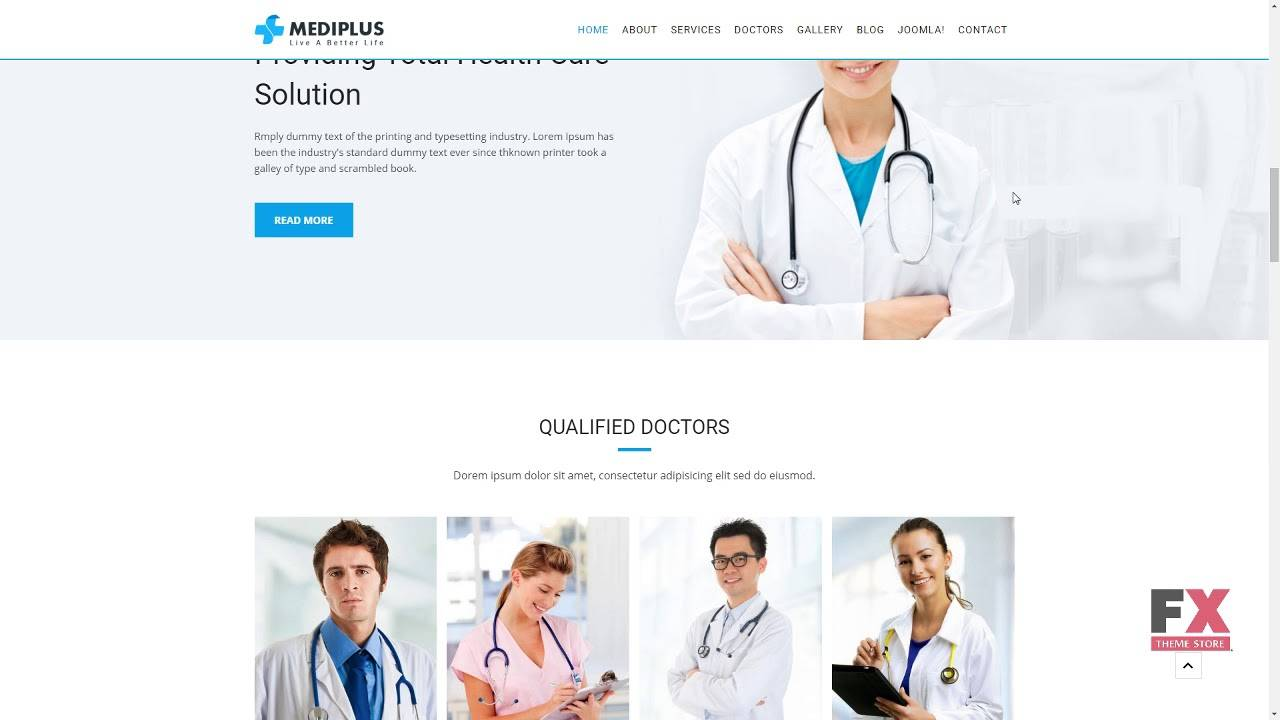 Mediplus Joomla Medical Template