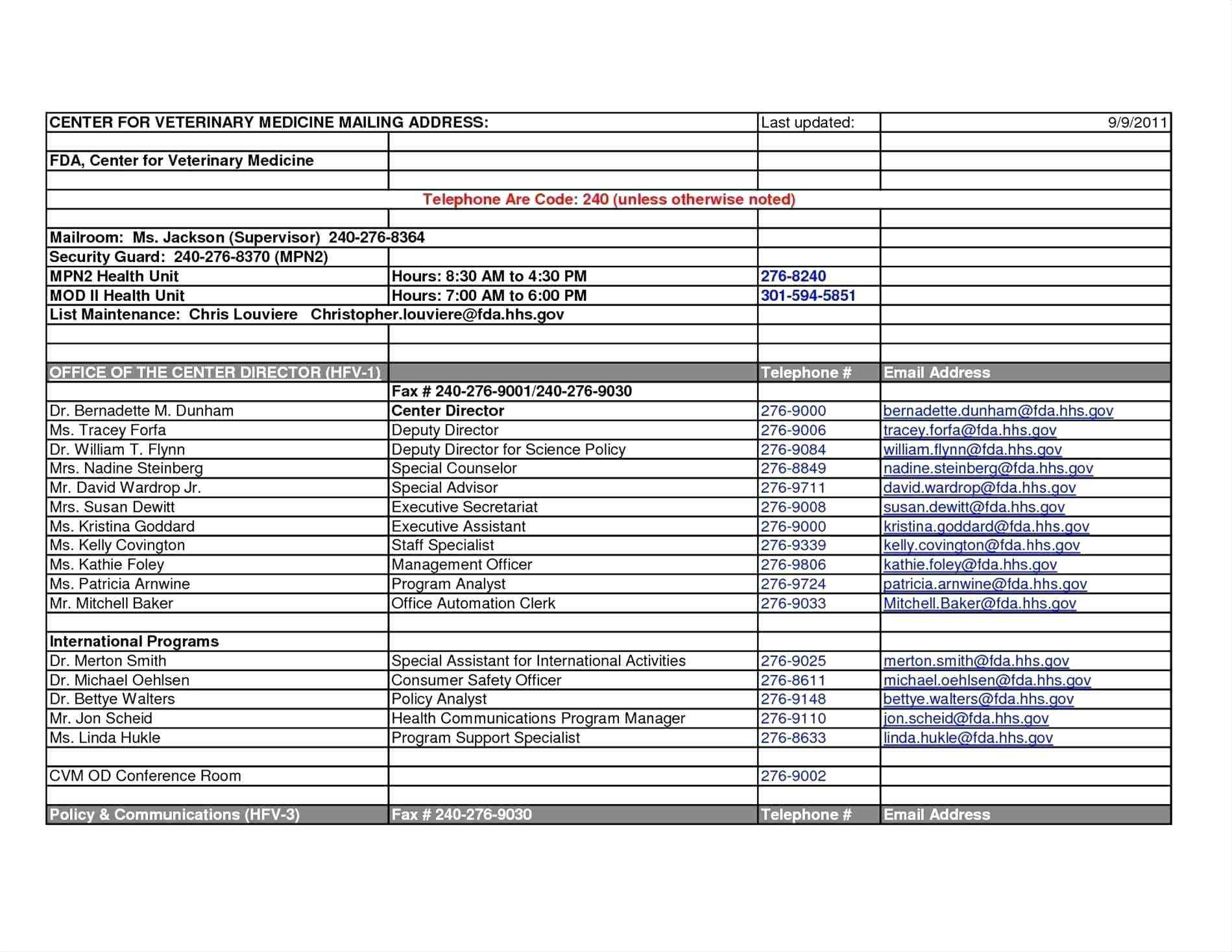 Membership Directory Template Excel