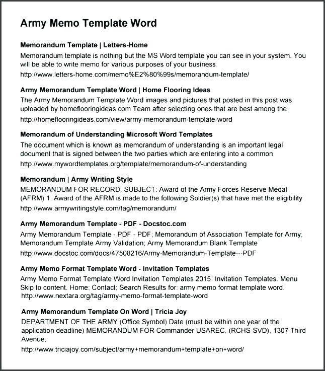 Memorandum Of Understanding Template Word Free Download