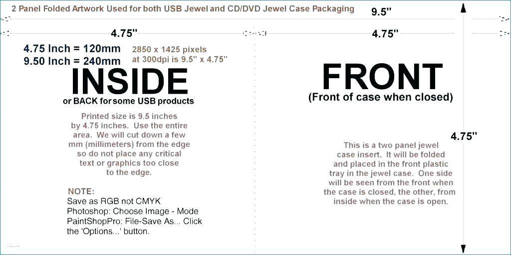 Memorex Cd Case Label Template