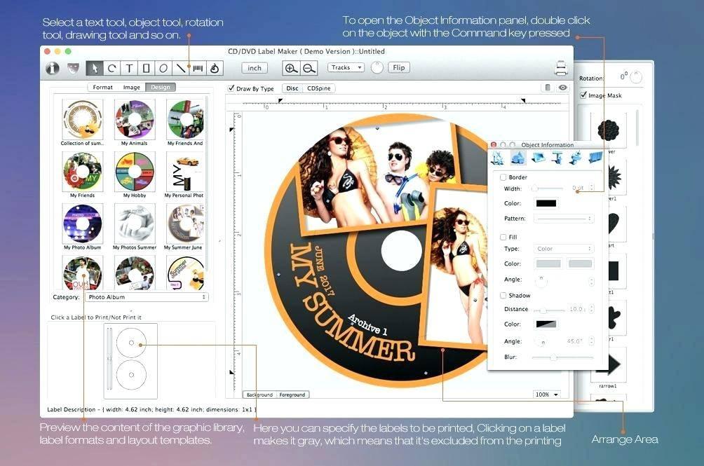Memorex Cd Label Maker Template For Word