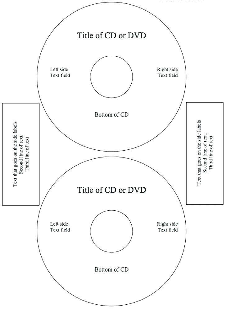 Memorex Dvd Labels Template