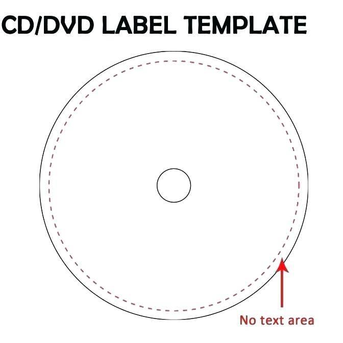 Memorex Full Face Cd Label Template