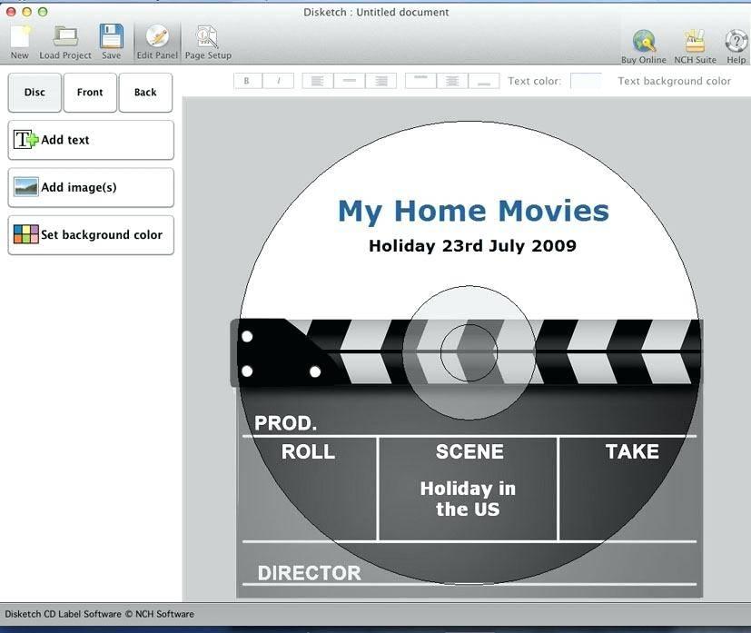 Memorex Label Maker Template Word
