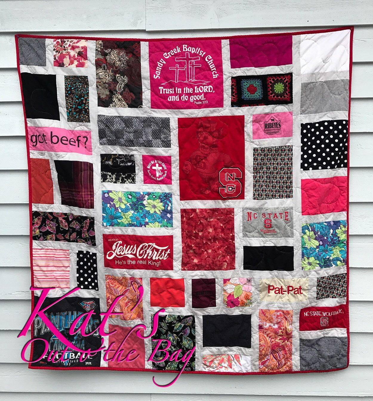 Memory T Shirt Quilt Patterns