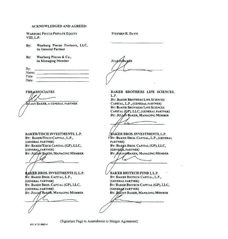 Merger Agreement Form Sec
