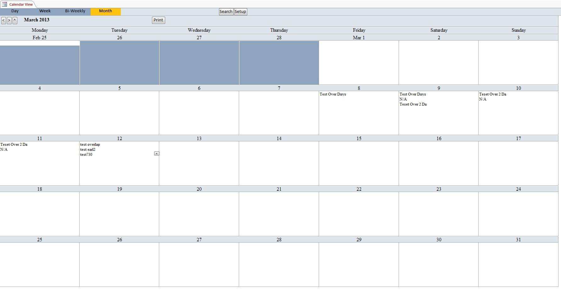 Microsoft Appointment Scheduling Template