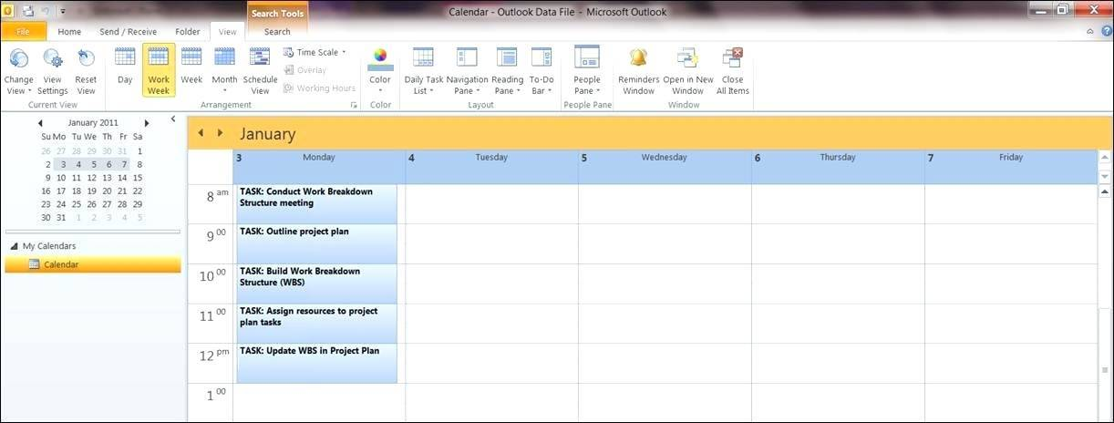 Microsoft Excel Event Planning Template
