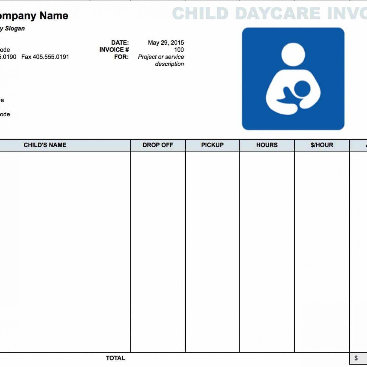 Microsoft Excel Invoice Templates Free Download