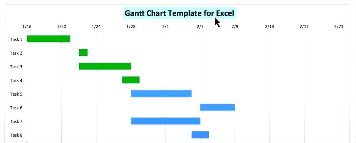Microsoft Office 2010 Gantt Chart Template