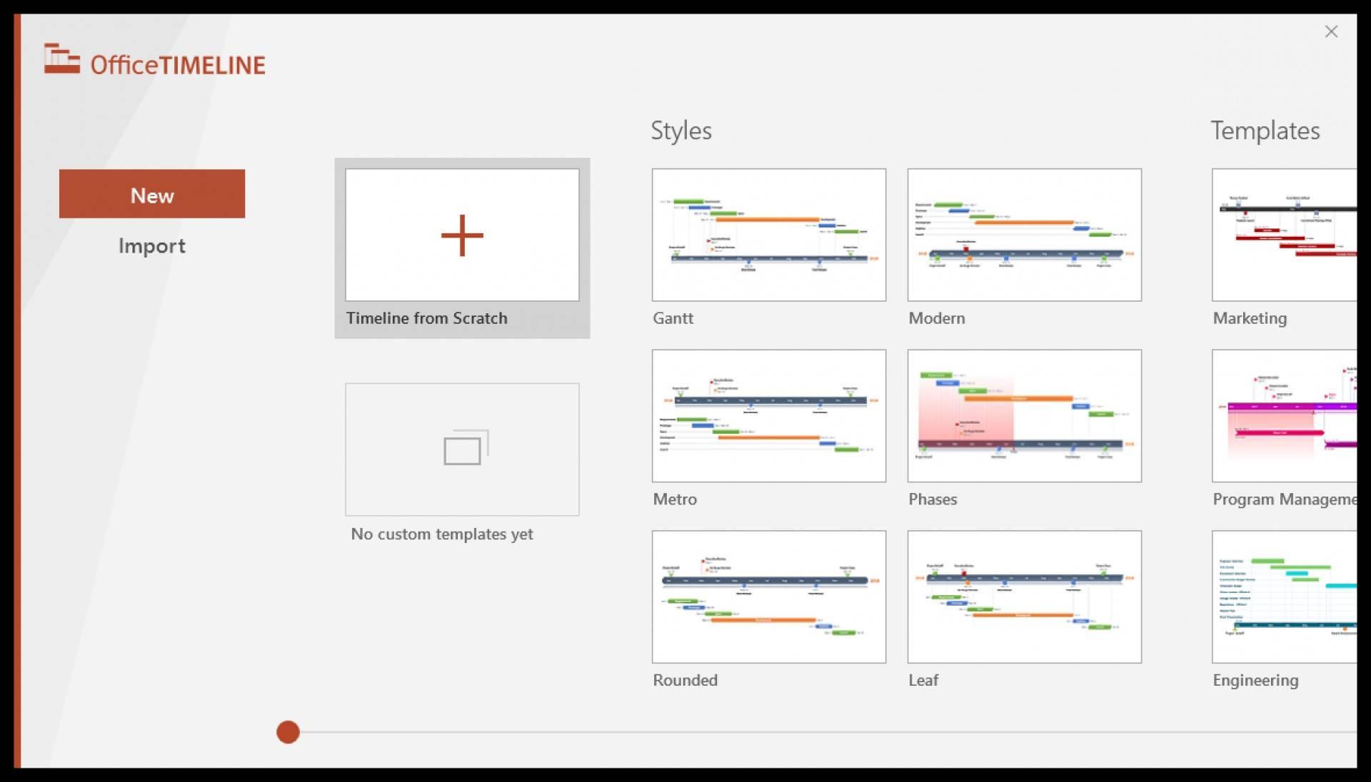 Microsoft Office Gantt Chart Template