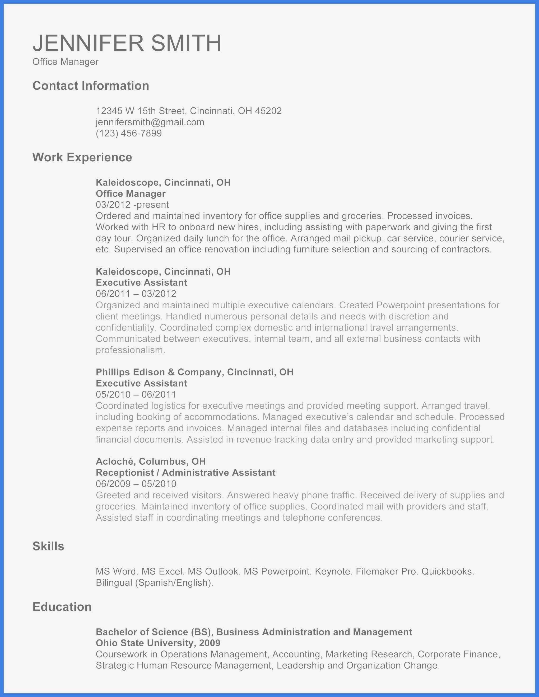 Microsoft Powerpoint Resume Templates