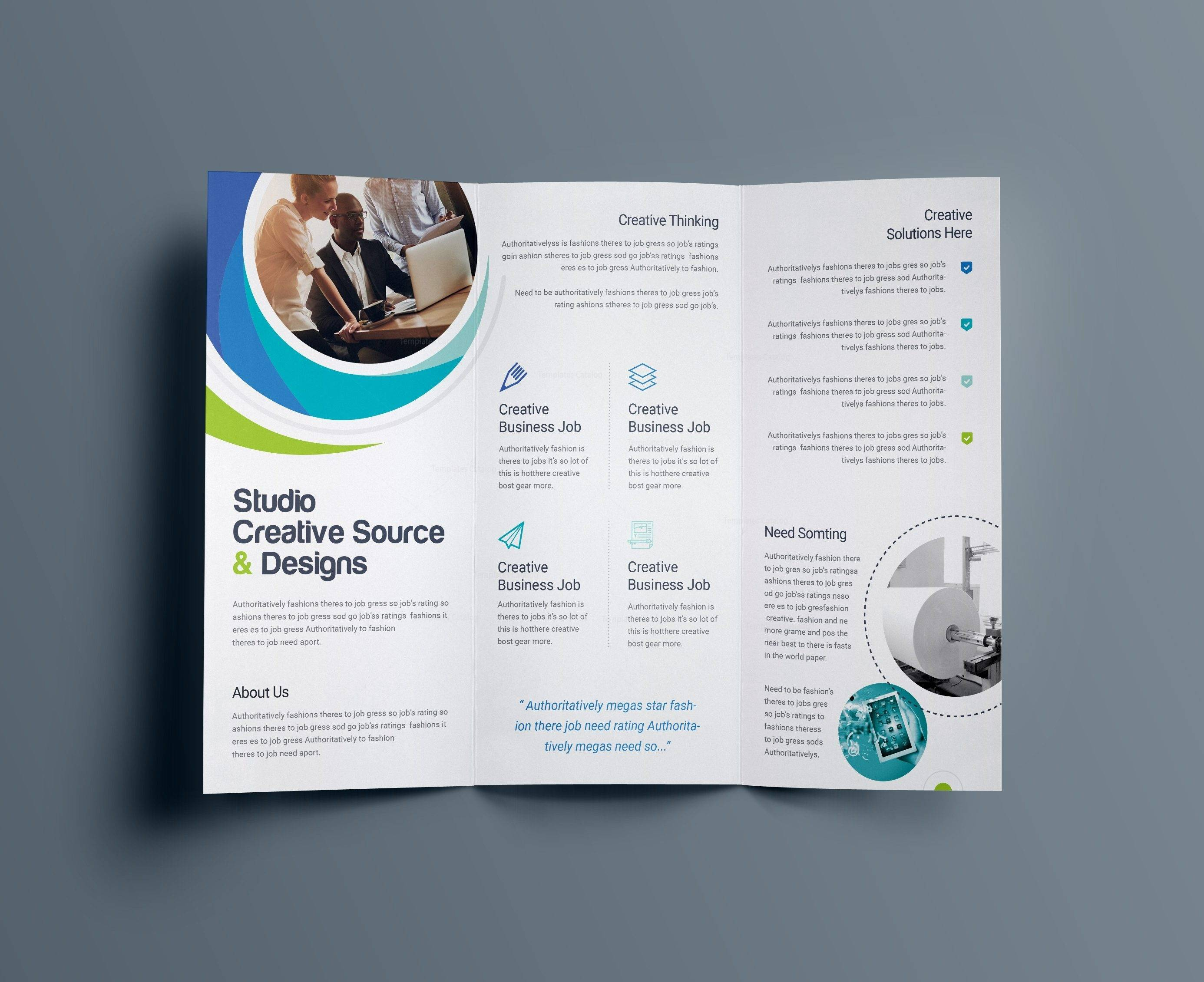 Microsoft Publisher Brochure Templates