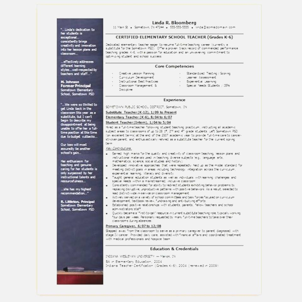 Microsoft Publisher Templates For Resumes