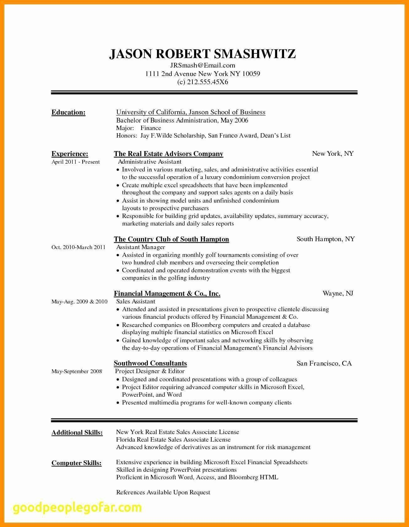 Microsoft Word 2007 Resume Templates Free Download