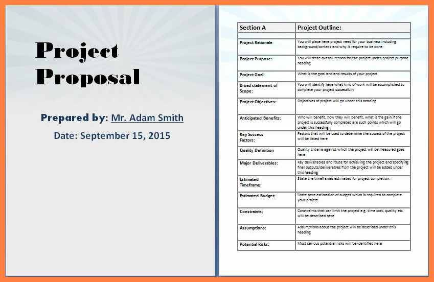 Microsoft Word Business Proposal Templates