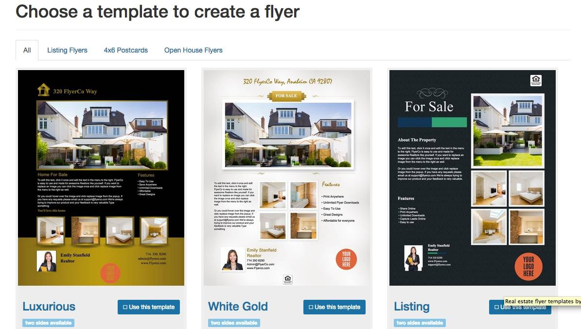 Microsoft Word Real Estate Flyer Templates Free