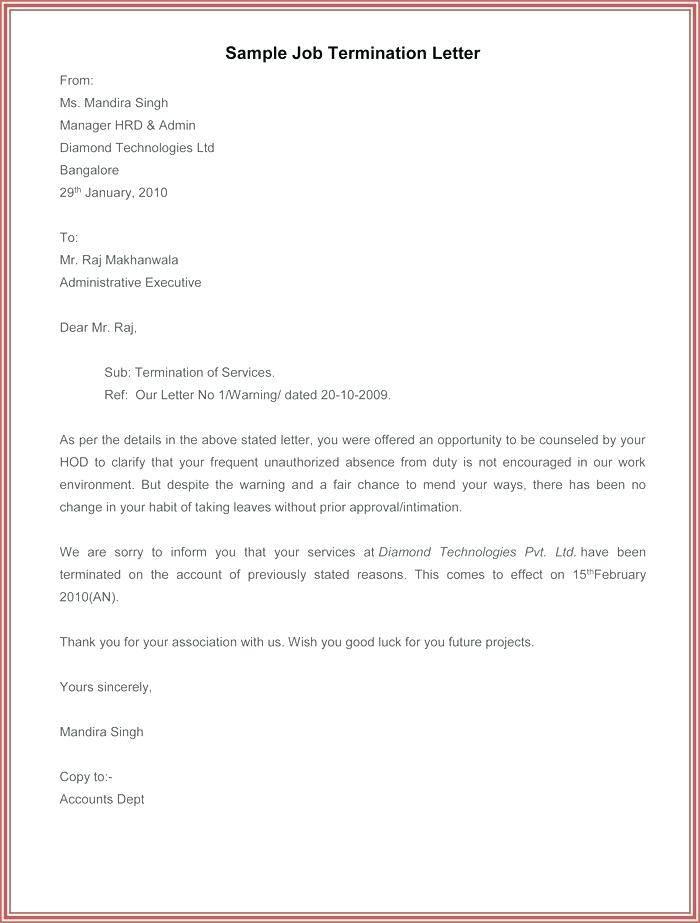 Microsoft Word Template Lease Termination