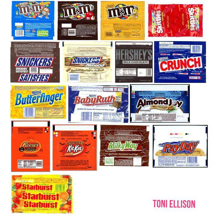 Mini Candy Bar Wrapper Templates