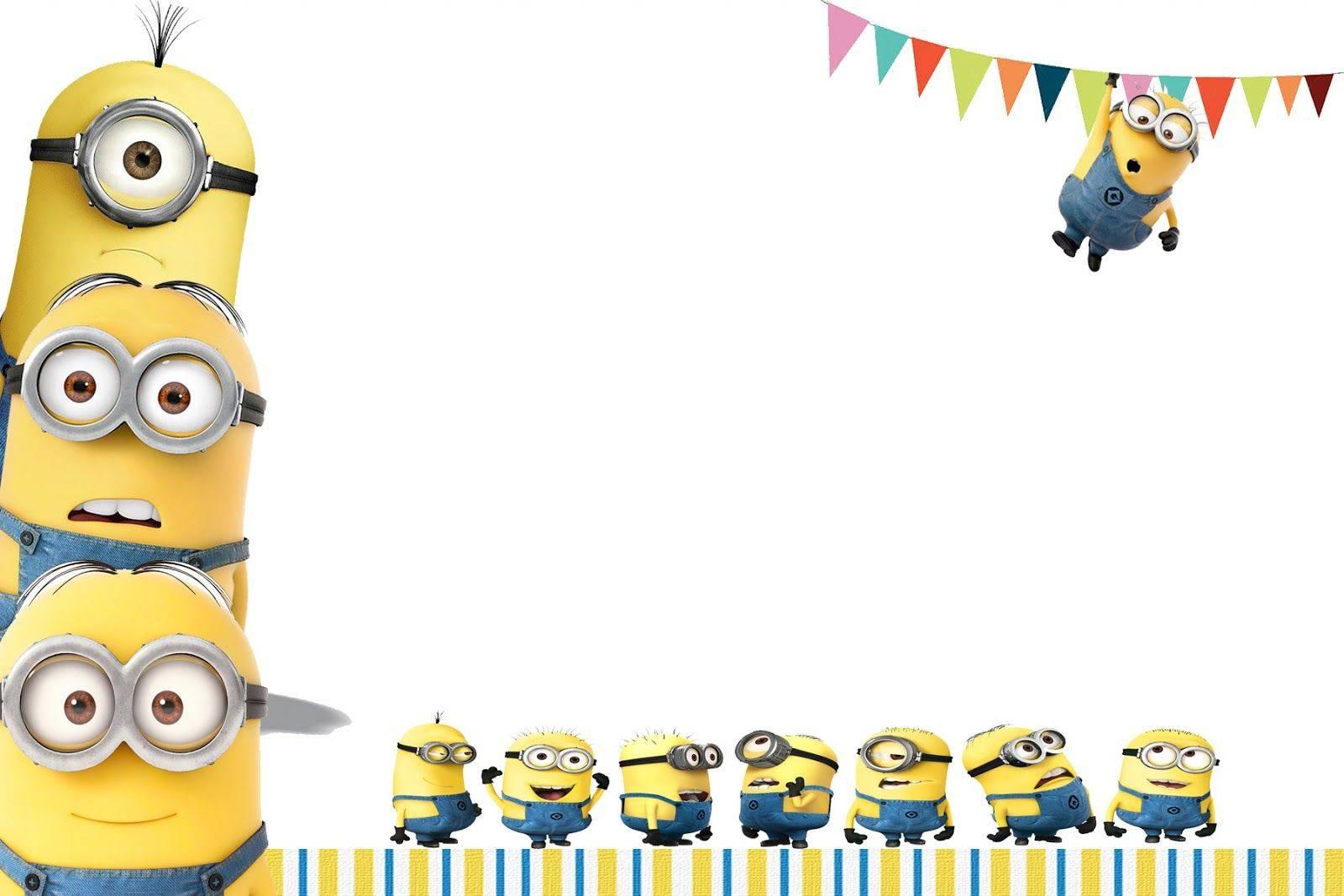 Minion Party Invitations Templates
