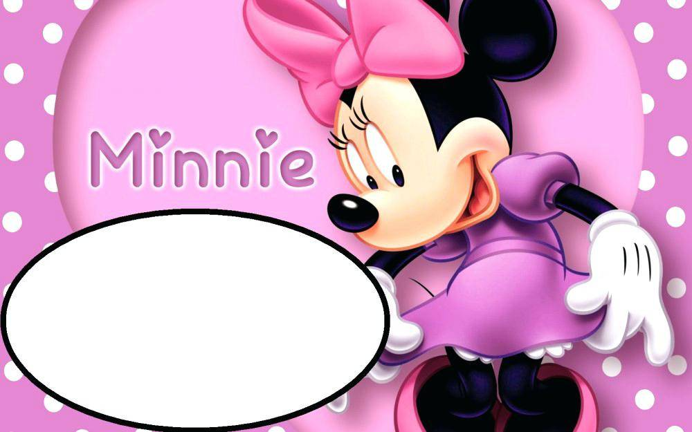 Minnie Mouse Party Invitation Templates Free