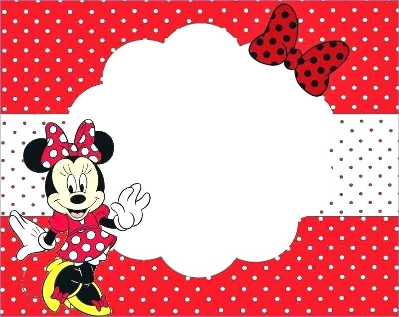 Minnie Mouse Water Bottle Labels Free Template