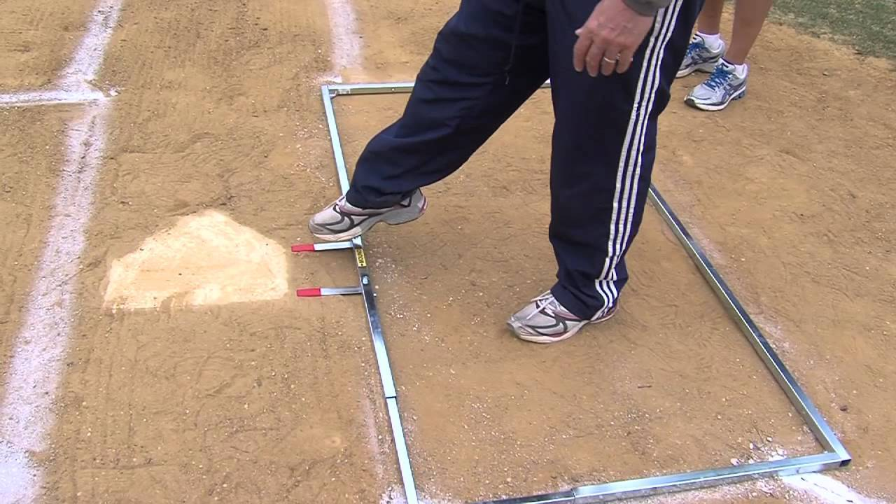 Mlb Batter's Box Template