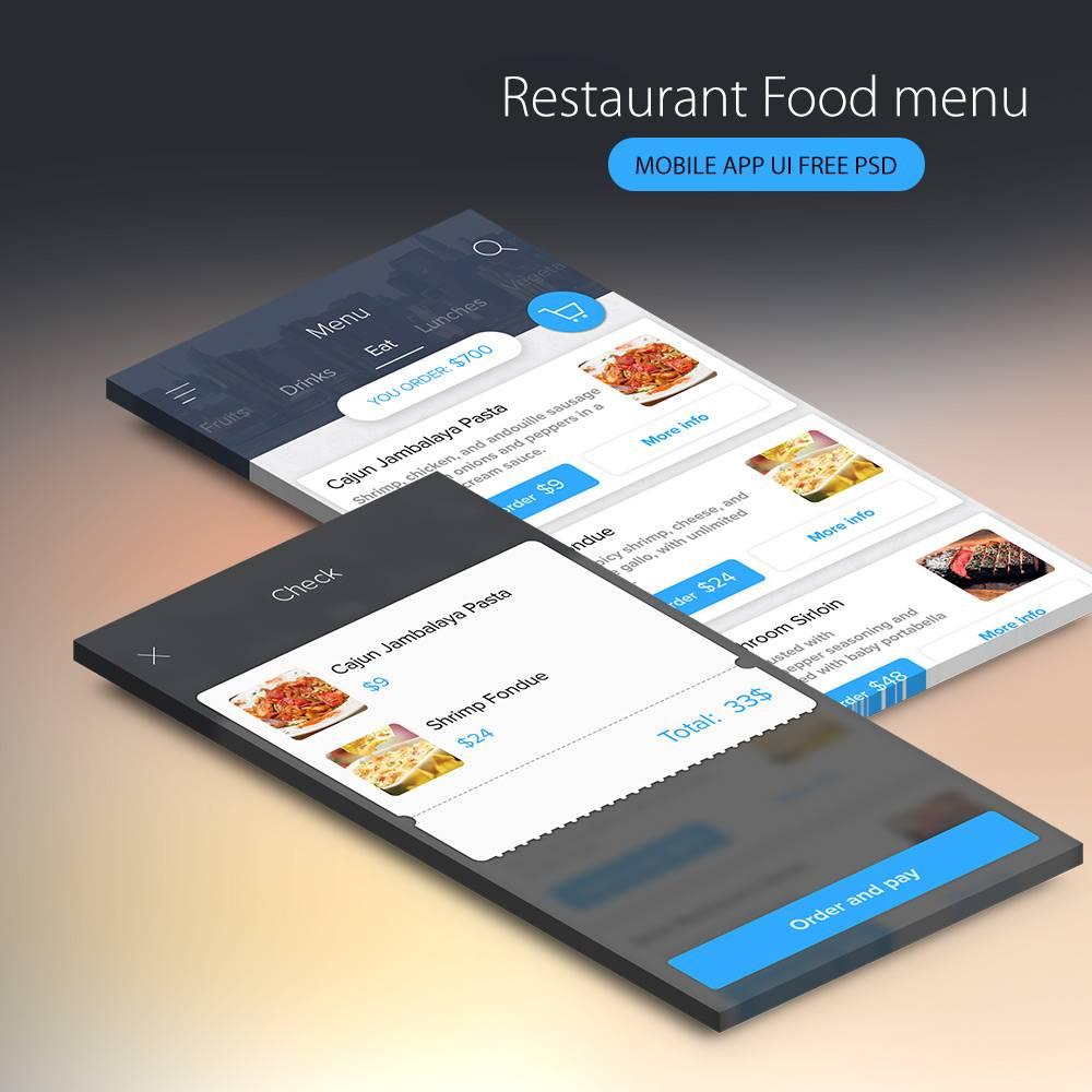 Mobile App Ui Psd Download