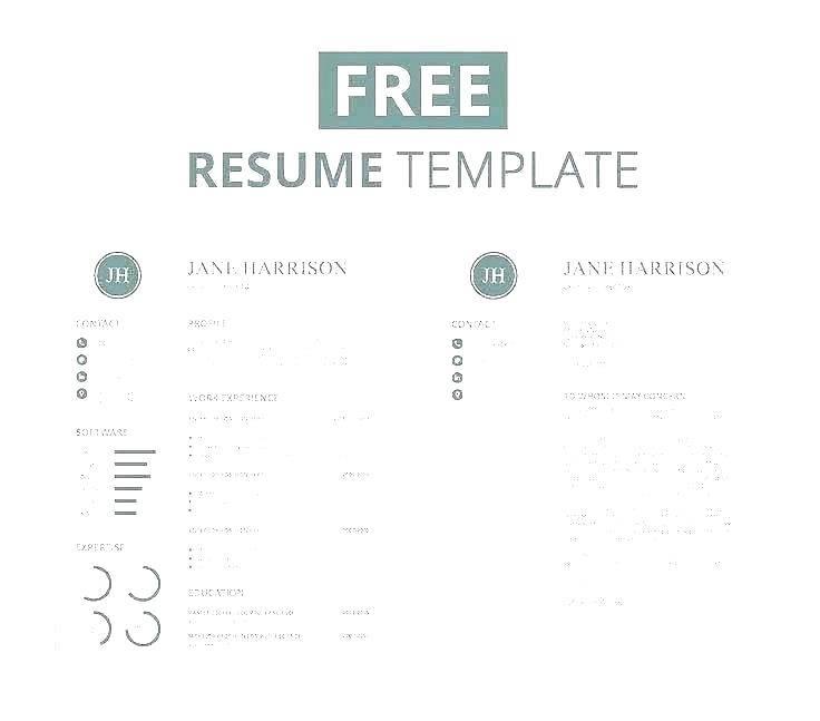 Modern Resume Template Word 2013