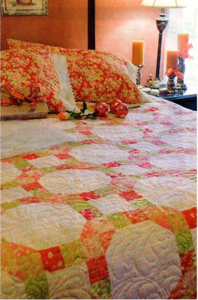 Modern Wedding Ring Quilt Pattern