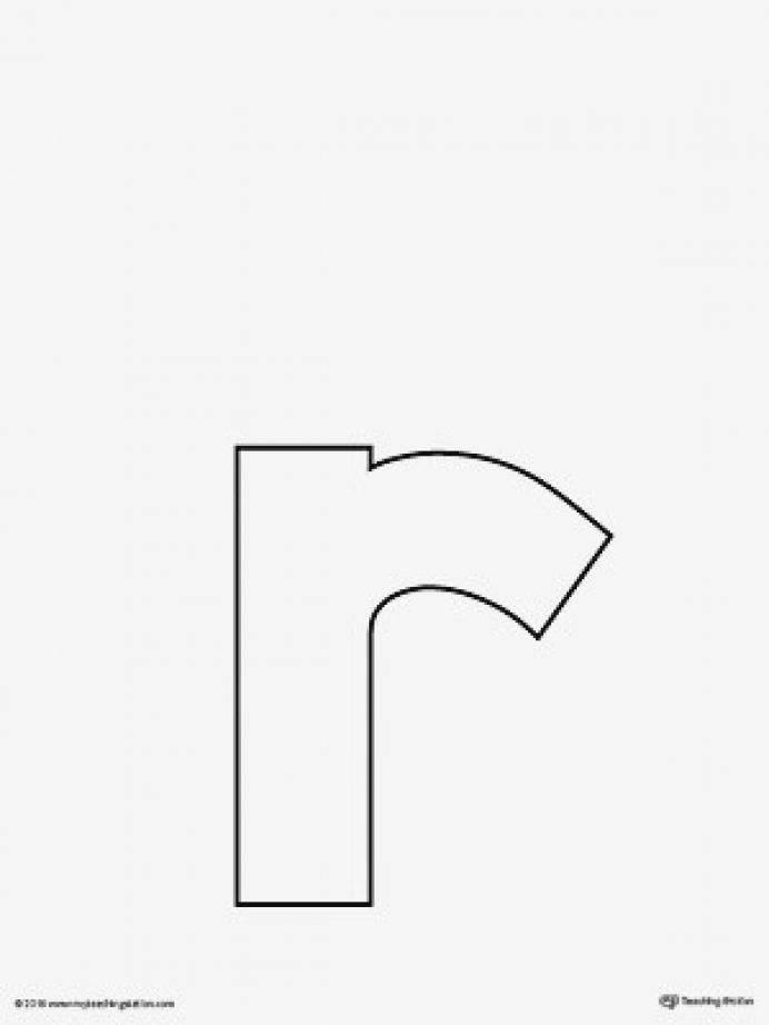 Monogram Letter Template Printable