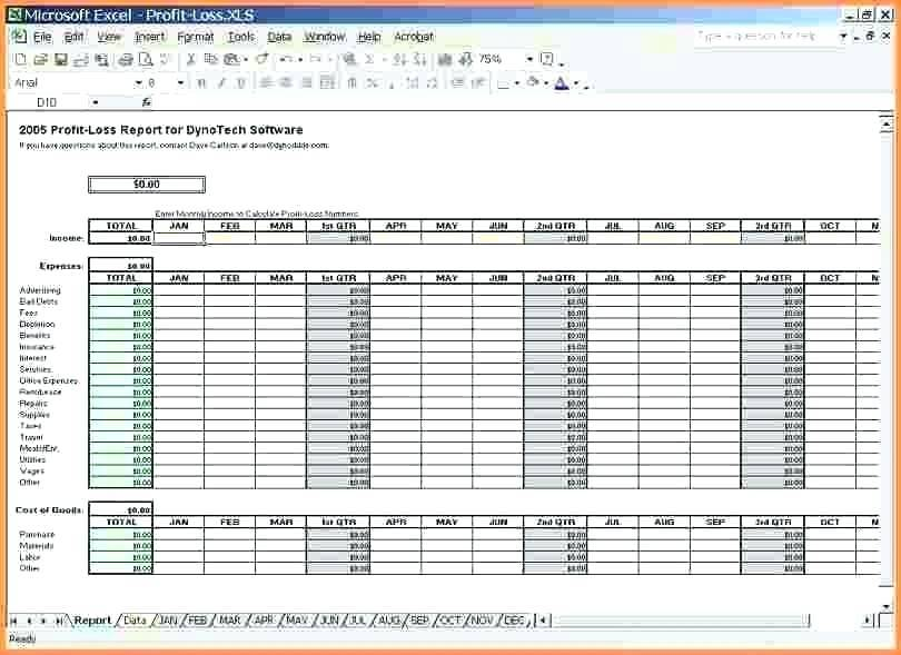 Monthly Income And Expense Template Excel