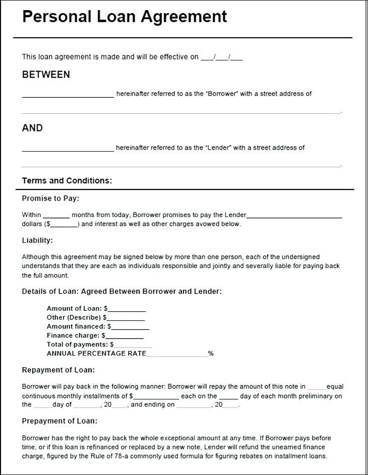 Mortgage Contract Template Free