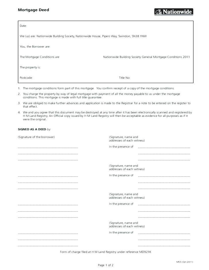 Mortgage Note Form New York
