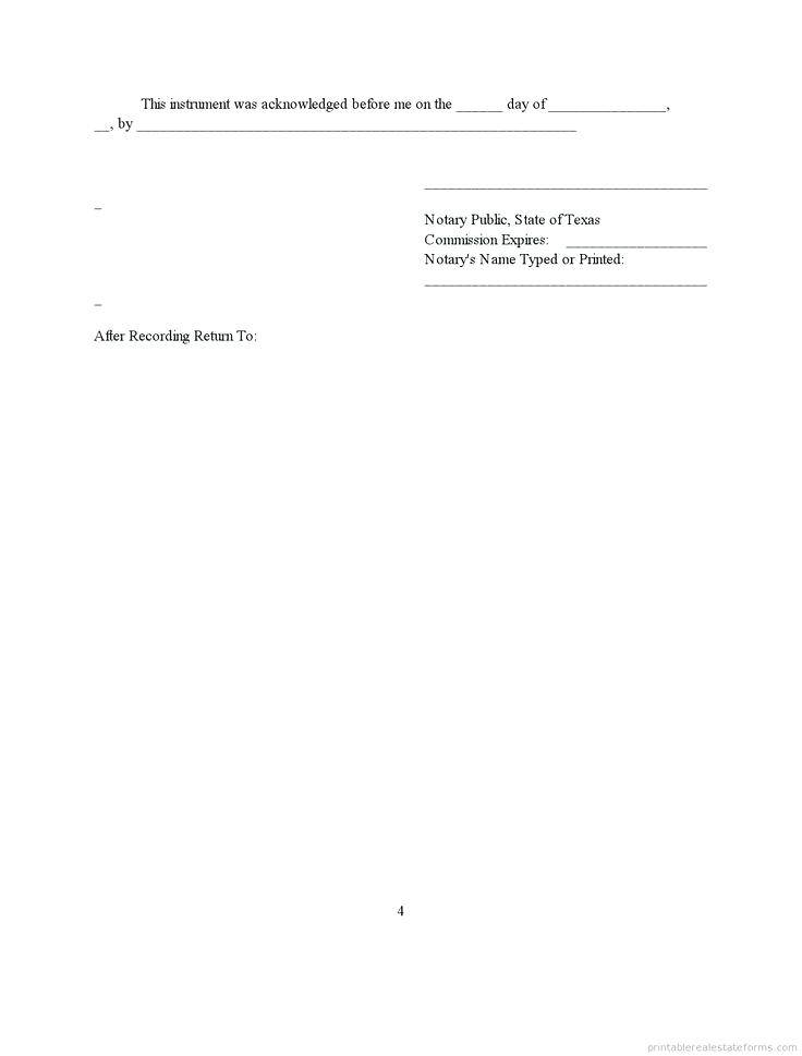 Mortgage Subordination Agreement Template