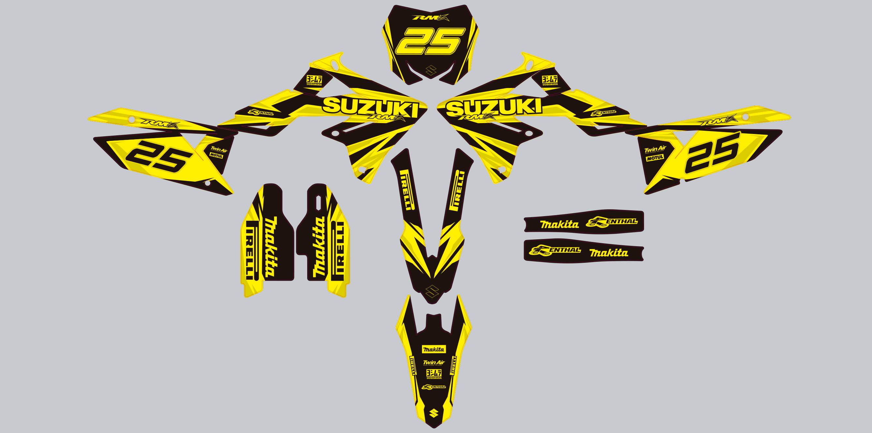 Motocross Graphics Templates