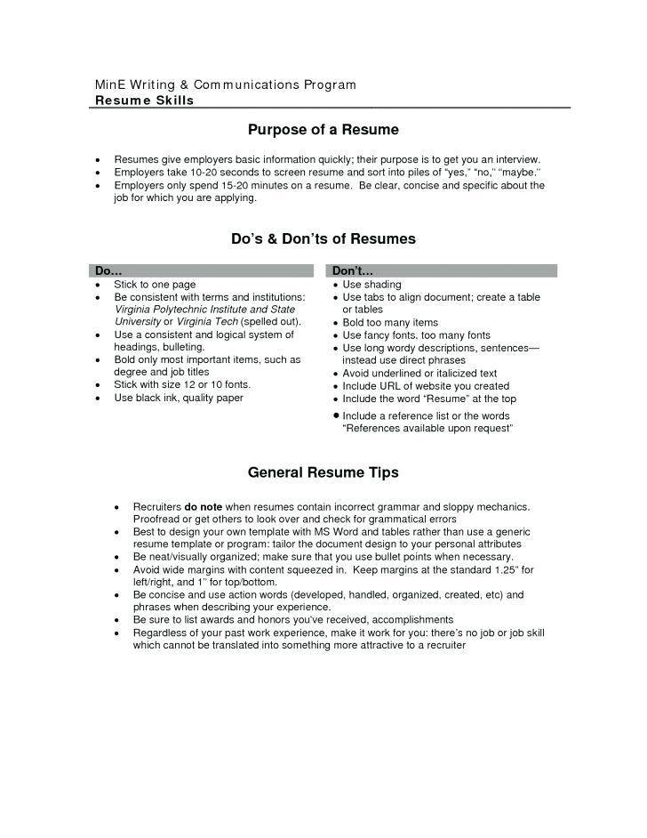 Motorcycle Mechanic Resume Template