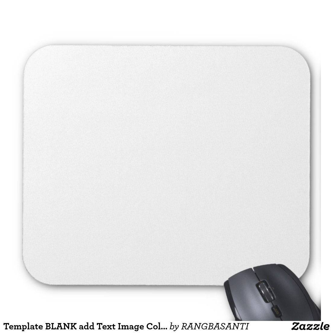 Mouse Pad Template