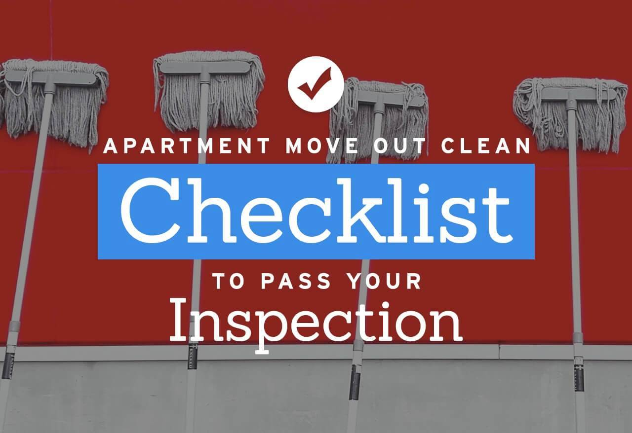Move Out Inspection Checklist Template