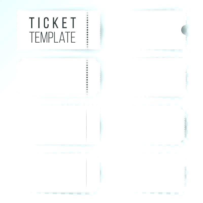 Movie Ticket Birthday Invitation Template Free