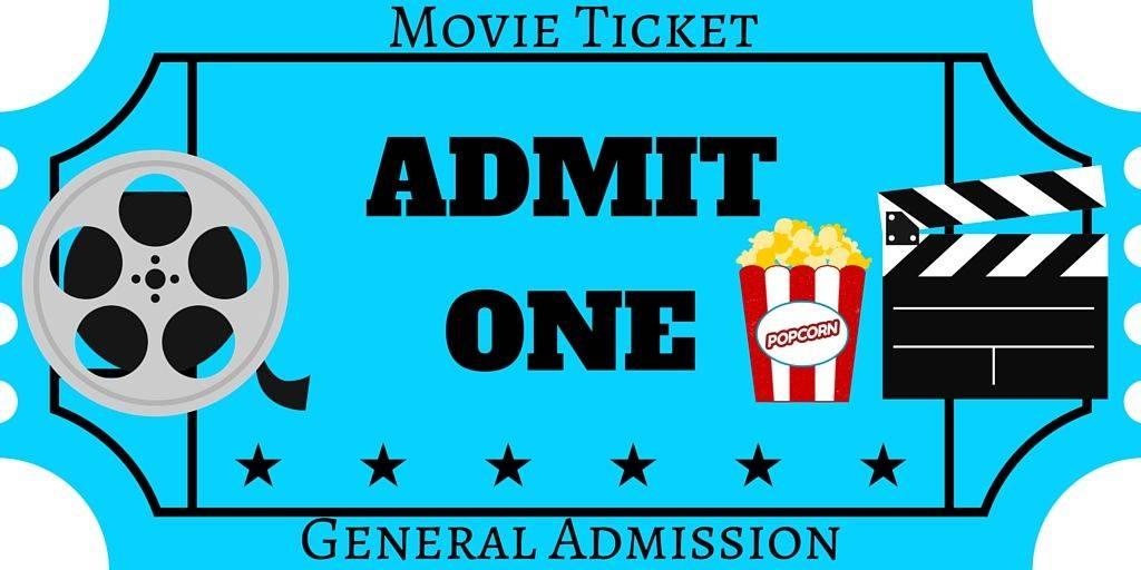 Movie Ticket Printable