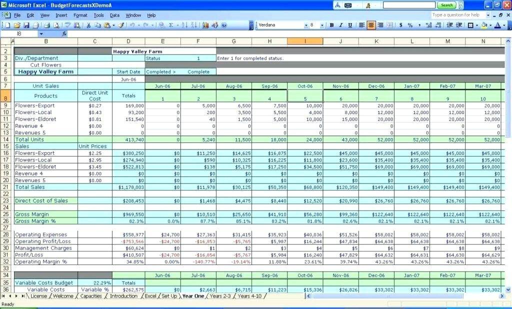 Ms Excel Accounting Templates Free