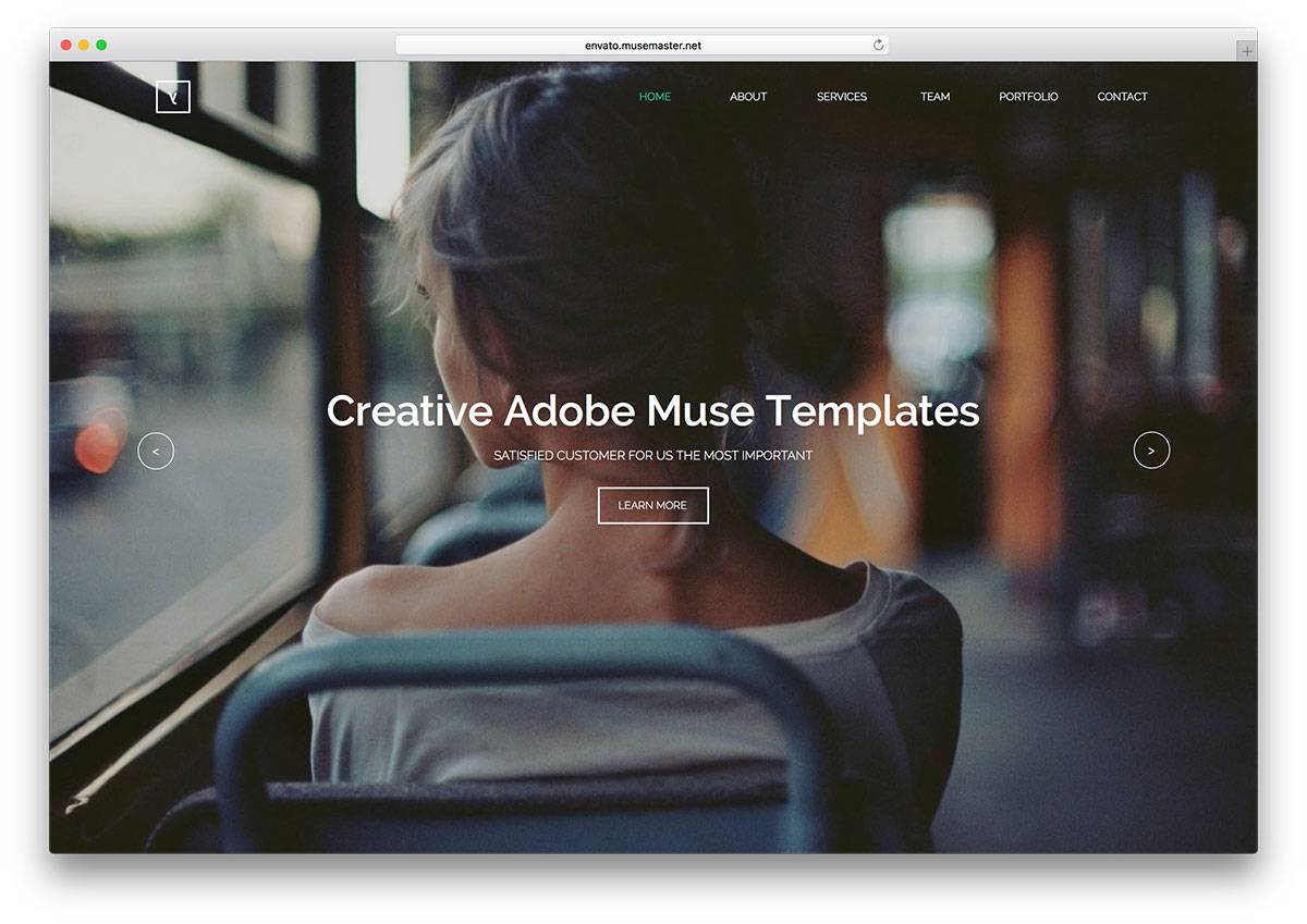 Muse Themes Responsive Menu