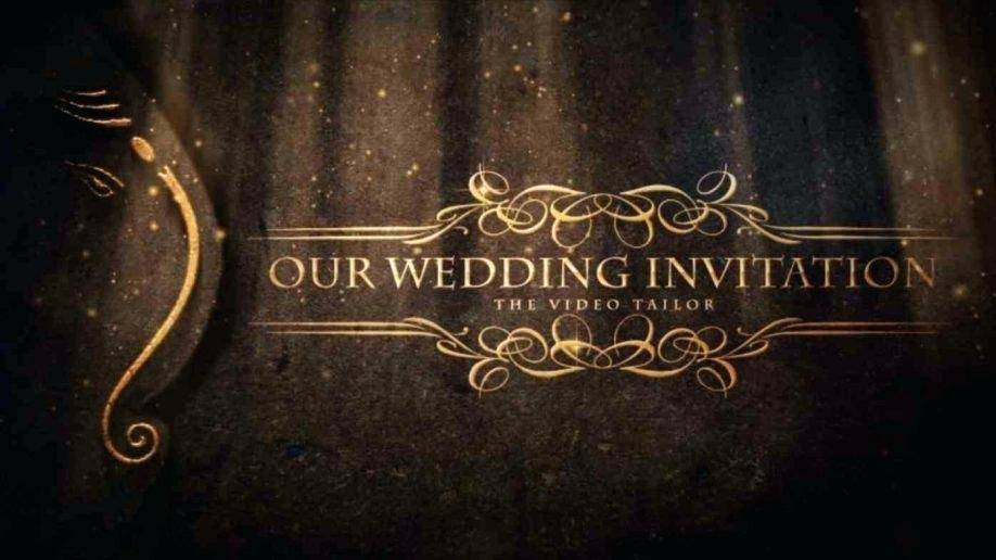 Muslim Wedding Invitation Video Templates Free Download