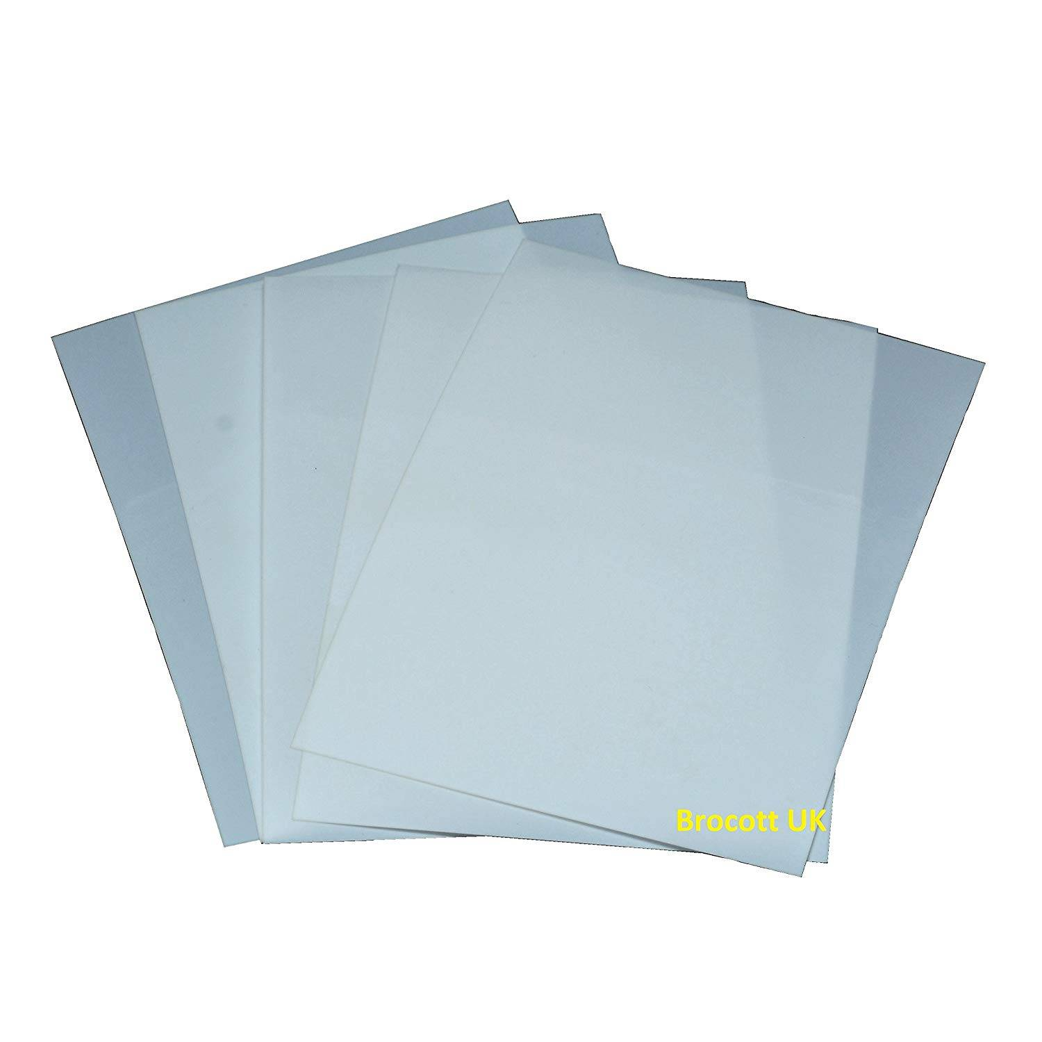 Mylar Template Sheets